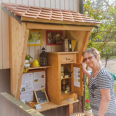 Verkauf über unser Honigschränkchen